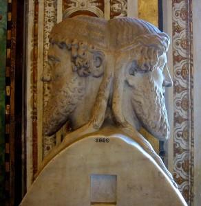Janus statue in Vatican