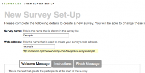 Treejack new survey setup